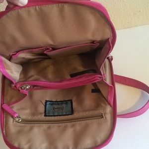 Osgoode Marle Bags - Osgoode Marley Leather Dark Pink Mini Backpack